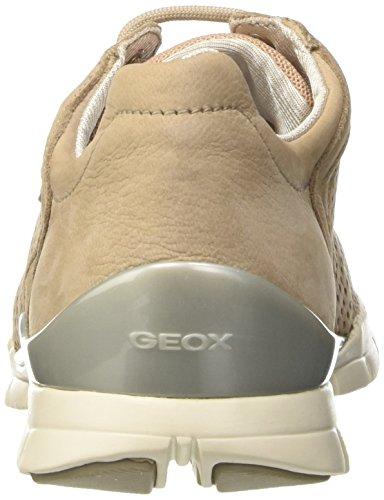 Geox Damen D Sukie A Sneaker Beige (LT TAUPEC6738)
