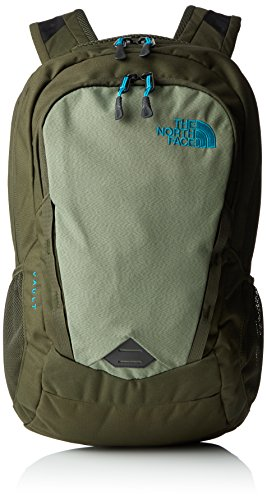 The North Face Vault Backpack - zainetto uso quotidiano, Verde (Forest Night Green/Enamel Blue), Taglia unica