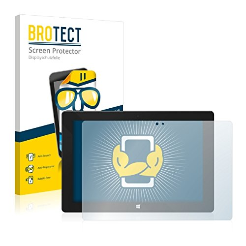 2X BROTECT HD Clear Bildschirmschutz Schutzfolie für One Xcellent 10 (kristallklar, extrem Kratzfest, schmutzabweisend)