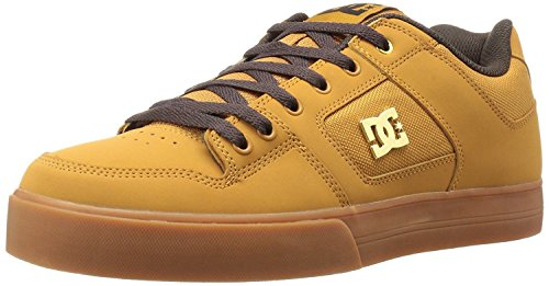 dc-pure-se-tan-brown-leather-mens-skate-trainers-shoes-8