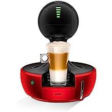 Krups Nescafé Dolce Gusto Drop - Cafetera con pantalla táctil de selección, color rojo