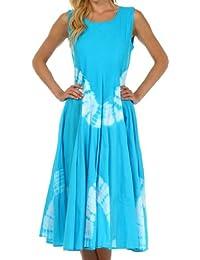 Sakkas Windsong Femmes Tie Dye Casual Two Way Robe