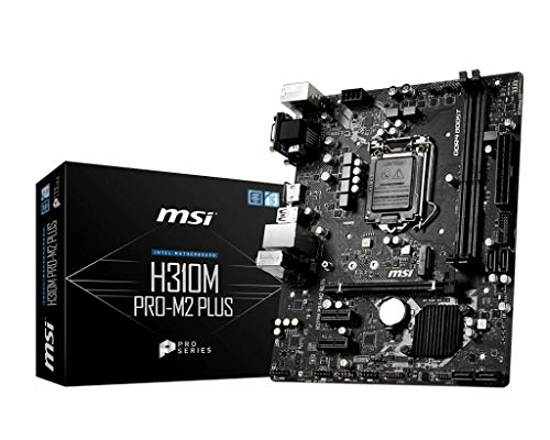 Carte Mere MSI *H310M Pro-M2 Plus* LGA 1151 ATX