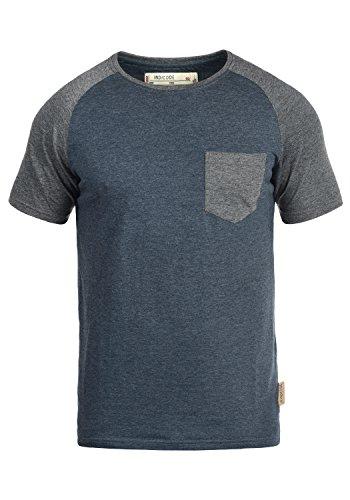 INDICODE Gresham T-Shirt, Größe:XXL;Farbe:Navy Mix (420)