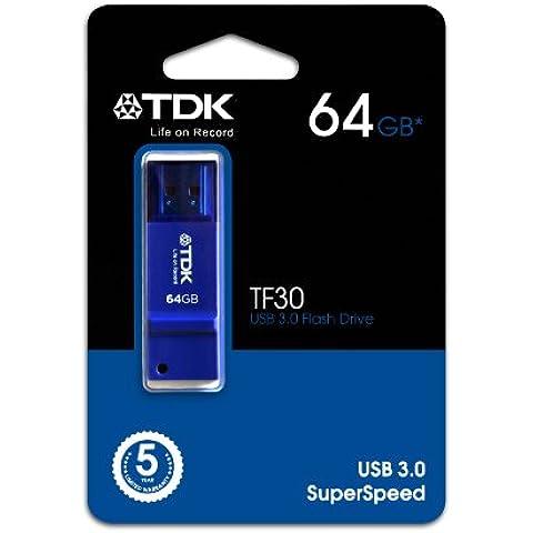 TDK 64GB TF30 - Pen Drive 64 Gb Tf30 Usb 3.0