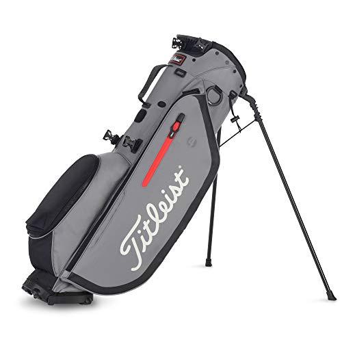 Titleist. Players 4 Golf Standbag - Ultraleichte Golftasche Grau