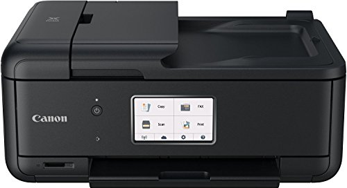 Canon Pixma TR8550 All-in-One Farbtintenstrahl-Multifunktionsgerät (Drucker, Scanner, Kopierer, Fax, USB, WLAN, LAN, Apple AirPrint) schwarz (In Kompakt One-drucker, All)