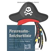 Piratensohn-Notizbuchlinie: Meuterei und das Hinterlassen von Einträgen ausdrücklich erlaubt (Variante: funnypirate)