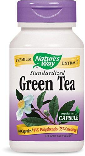 Grüner Tee, Standardisierte, 60 Vcaps - Weg der Natur