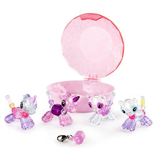 Twisty Petz - 6044224 - Pack de 4 Babies Twisty Petz - Bracelets animaux magiques- Animaux à collectionner - Modèle aléatoire