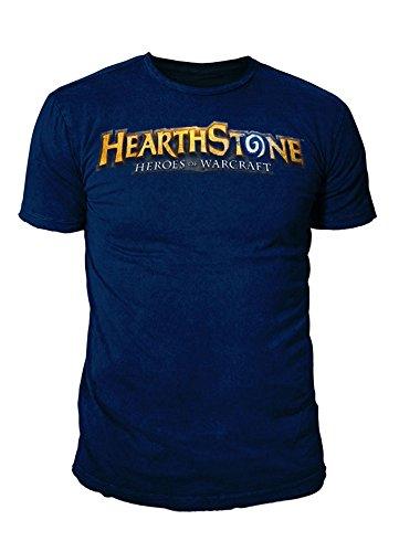 Hearthstone - Premium Herren T-Shirt - Classic Logo (Navy) (S-XL) (L) (Navy T-shirt Classic Logo)
