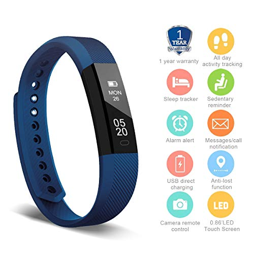 HolyHigh YG3 Fitness Tracker Band withno Heart Rate Monitor Smart Fitness Watch...