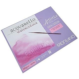 Fabriano Artistico Extra White Watercolour Paper Block 300gsm 12