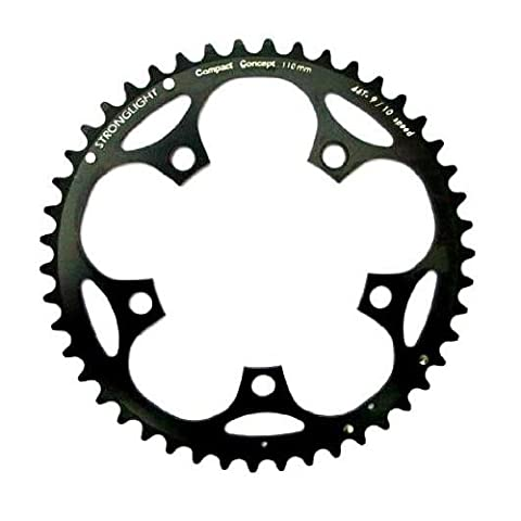 STRONGLIGHT CHAINRING aluminum 5-arm bolt circle 110mm sw. Various. Sizes,