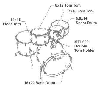 Tama CL52KRS Coffee Fade – Kit Batteria Acustica