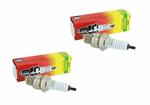 2 Isolator ZM 14-260 0,4mm Zündkerzen von Beru für Simson und MZ