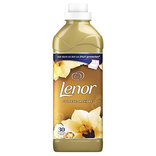 Lenor Weichspüler Goldene Orchidee, 6er Pack (6 x 900 ml), 180 Waschladungen [Auslaufmodell] -
