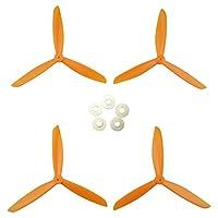 MagiDeal 4 Pieces Drone Propeller For Syma X8 X8C X8W X8G X8HG X8HC X8HW Quadcopter Parts DIY