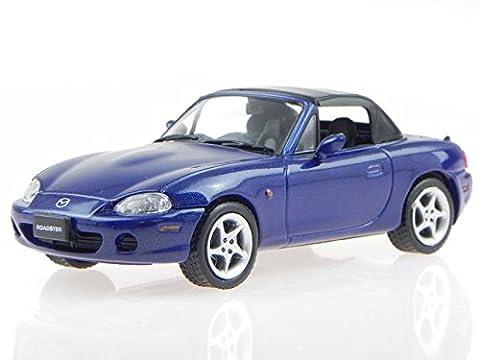 Mazda MX-5 MX 5 MX5 2001 blau Modellauto F43-008 F43 1:43 (Modellauto Mazda Mx 5)