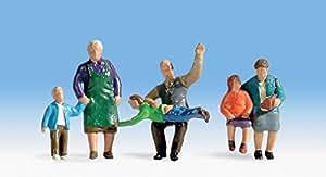 Nonni e nipoti 6 personaggi HO