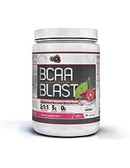 Pure Nutrition USA BCAA Blast Powder Pulver Essential Branched Chain Amino Acid Essentielle Aminosäuren 250/500g 38/77 Servings (Cherry, 500g)