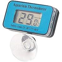 LIUSHUI Termometro acquari LCD sommergibile Digitale per Acquario per acquari (47 * 27 * 29mm)