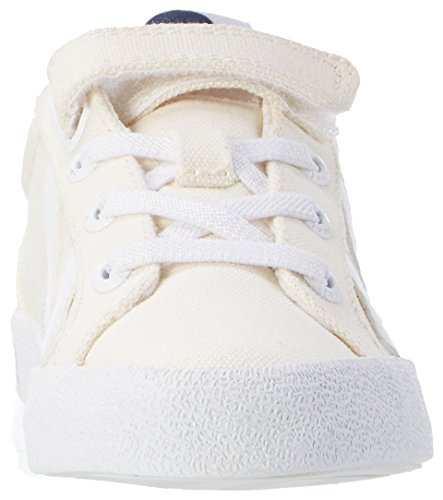Hummel Deuce Court Jr, Sneakers Basses Mixte Enfant Blanc (Pristine White)