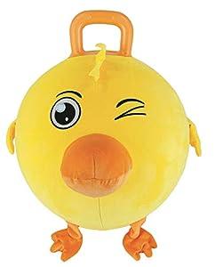 Splash Toys Boing Ball - Balón de Peluche (45 cm de diámetro), Color Amarillo