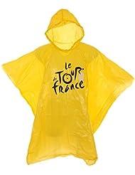 Tour de France Tdf-Acc-024K J TU Poncho Mixte Adulte, Jaune, FR : Taille Unique (Taille Fabricant : Taille Unique)