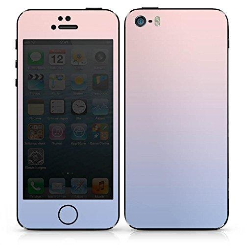 Apple iPhone SE Case Skin Sticker aus Vinyl-Folie Aufkleber Pastell Farben Frühling DesignSkins® glänzend