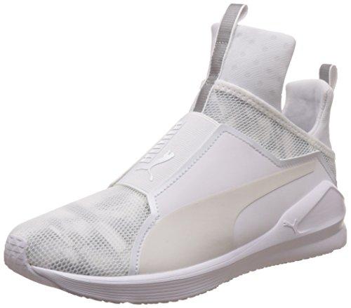 Puma Damen Fierce Swan Wn's Sneakers, Weiß (Puma White-Puma White 02), 39 EU