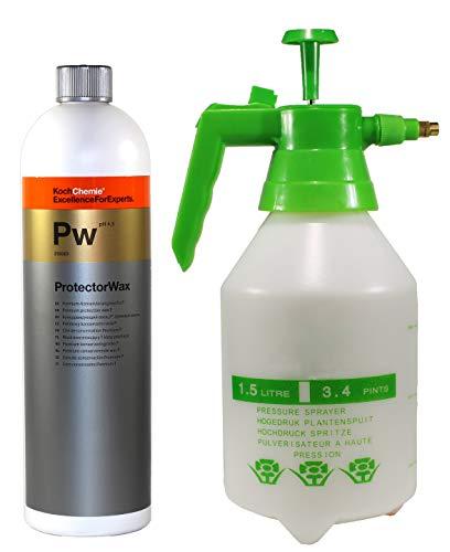 Koch Chemie PW Protector Wax 1 Liter Autowachs Versiegelung Sprüh wachs mit MC Pumpsprüher
