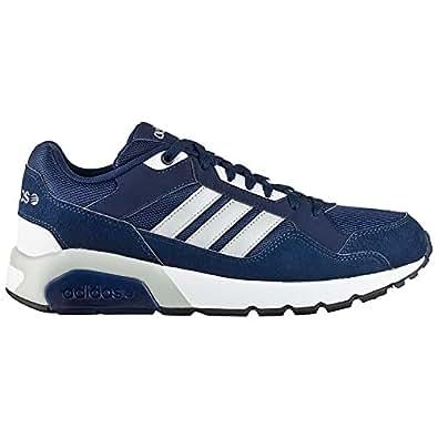 Adidas nEO run9tis chaussures pour homme - Bleu - Blau (Blau-Grau), 43 1/3 EU