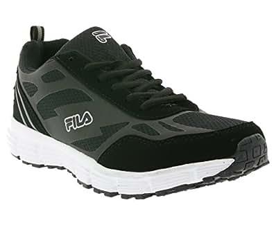 FILA Fresno Run Men Hommes Chaussures de course de 26010085.25Y Noir, Taille:40