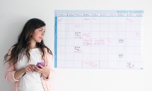 Daily Planner Dry Erase Board-To Do Planer Smart Board und pflanzengießen Liste -