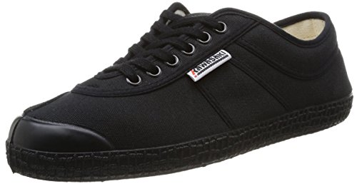 Kawasaki - Rainbow basic, Senakers a collo basso, unisex, nero (black / 60), 41