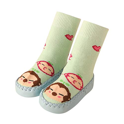 Lomsarsh Kleinkind Baby Junge Mädchen Cartoon Mokassins Rutschfeste Indoor Outdoor Hausschuhe Socken Anti-Rutsch-Cartoon Kleinkind Schuhe rutschfeste Fußbodensocken