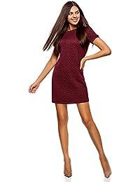 647277970e Tubino Peplum Donna Amazon it Vestiti Abbigliamento E C4g4w5q