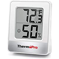 ThermoPro TP49 Digital Room Thermometer Indoor Hygrometer Mini Temperature Monitor Humidity Meter for Home Office Air Comfort Thermo Hygrometer