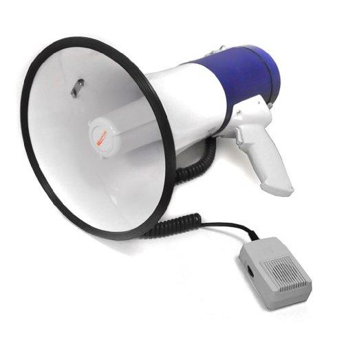 Mégaphone Auna 1000m Haut-parleur Sirène