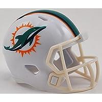 Riddell MIAMI DOLPHINS NFL Speed POCKET PRO MICRO/POCKET-SIZE/MINI Football Helmet