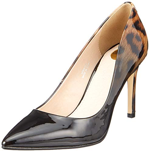 Buffalo Damen Amani Pumps, Beige (Nude Leopard 000), 37 EU (Womens High Heels Kleid Schuhe)