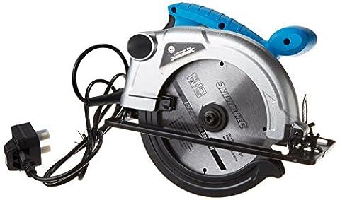 Silverline 845135 Circular Saw 185 mm, 1200 W
