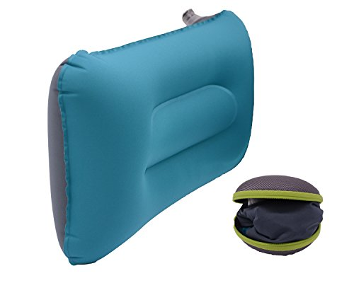 Cuscino gonfiabile da viaggio, dgreat leggero gonfiabile campeggio Cuscini con