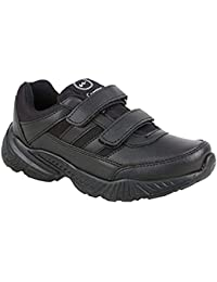 Campus Boys School Shoes Black