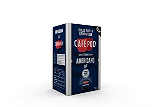 Order CaféPod 16 Americano Dolce Gusto Compatible Capsules (16 servings) by CafPod
