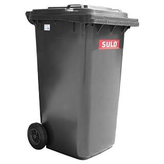 Sulo Müllgrossbehälter Grau 240 Ltr