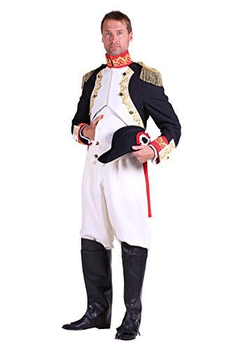 Thetru 2009 Herrenkostüm Napoleon Bonaparte Jacket Weste Hose Kostüm Herren Karneval Fasching (Napoleon Bonaparte Kostüm)