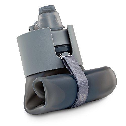 Nomader plegable–Botella de agua a prueba de fugas tapa de...