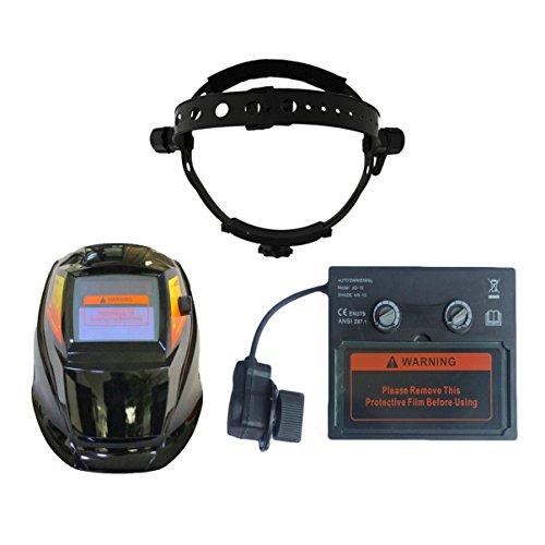 Jullyelegant Solarschweiß Objektiv Helm Auto Verdunkelung Schutzbrille UV IR Schutz...